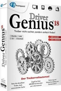 Driver Genius Crack With Keygen & Patch
