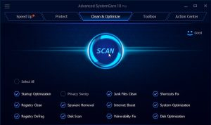 Advanced SystemCare Registration Key With Full Crack