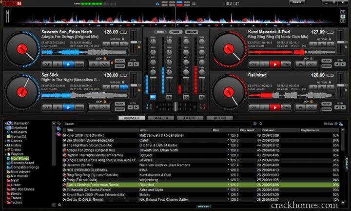 Virtual DJ Crack V8 Latest Version Download {19 july 2019