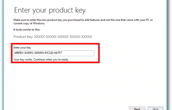serial number windows 8.1 all in one