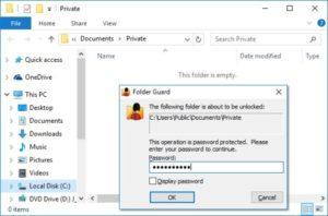 Folder Guard Professional License Key With Crack