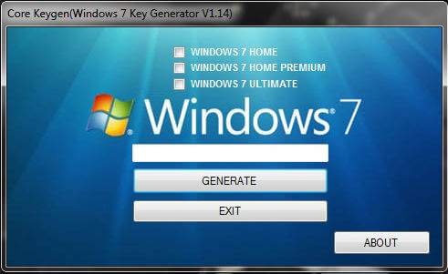 Windows 7 Home Premium Key Crack Serial