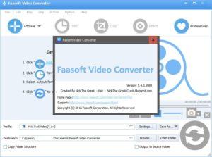 FaaSoft Video Converter Pro Crack & Patch