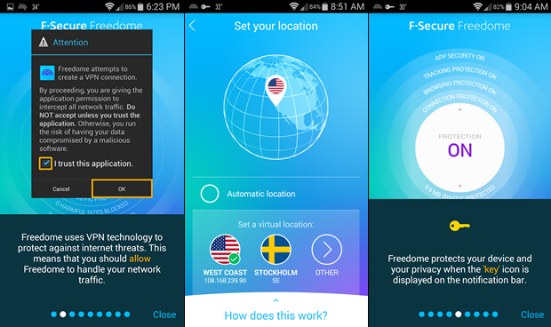 F-Secure FreeDome VPN Crack + Latest Version Updated [10