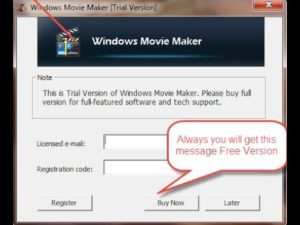Windows Movie Maker Registration Code & Crack