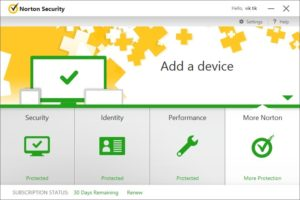 Norton Security 2019 Product key + Full Version