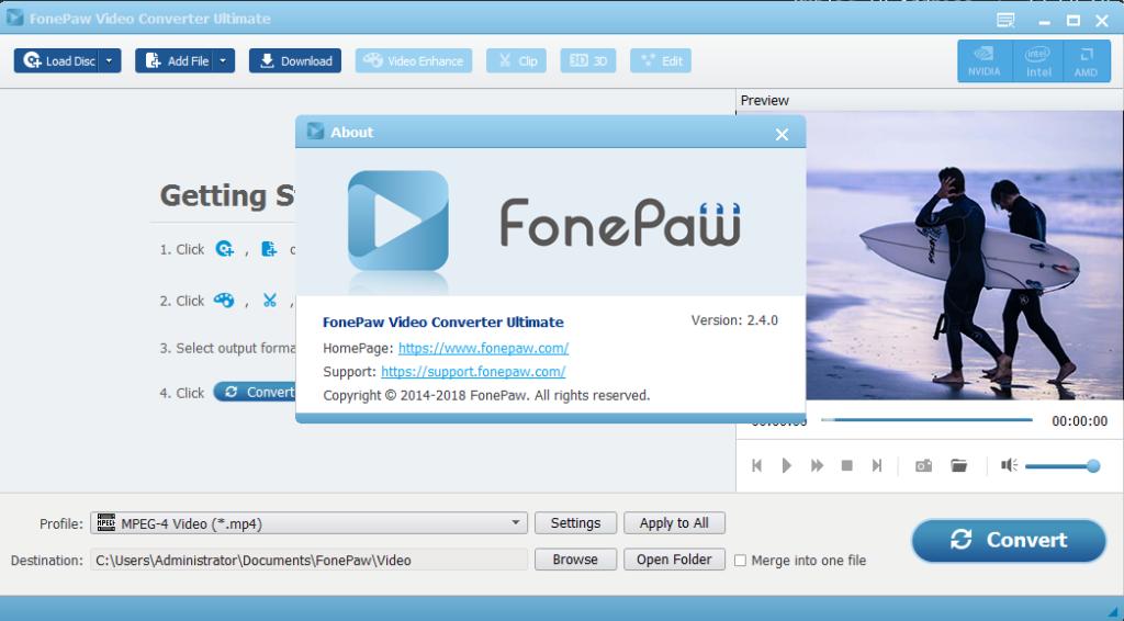 fonepaw video converter ultimate keygen