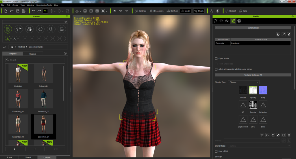 iClone Character Creator Crack + Latest Version Download [14