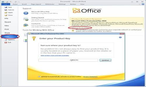 Microsoft Office 2010 Product Key Full Crack Updated Version [2020]