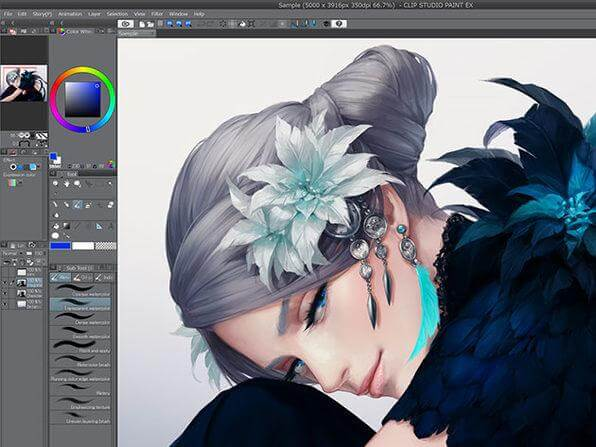 Clip Studio Paint EX 1.11.0 Full Crack Plus Keygen [Latest-Release]