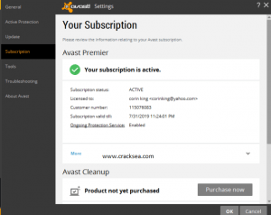 avast secureline vpn License key 2020 Full Crack [Latest]