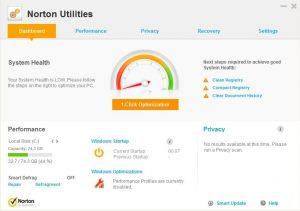 Norton Utilities crack With Serial Key Free Download