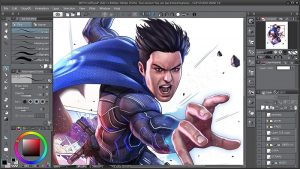 Clip Studio Paint EX 1.10.13 Crack With Serial Key 2021 [Latest]
