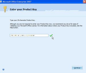 Microsoft Office 2007 Crack With Product Key Full Download